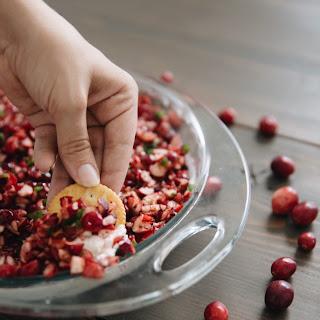 Holiday Cranberry Jalapeño Dip.