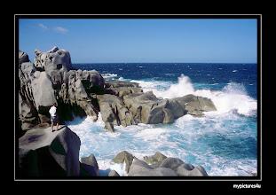 Photo: Capo Testo, Sardinia