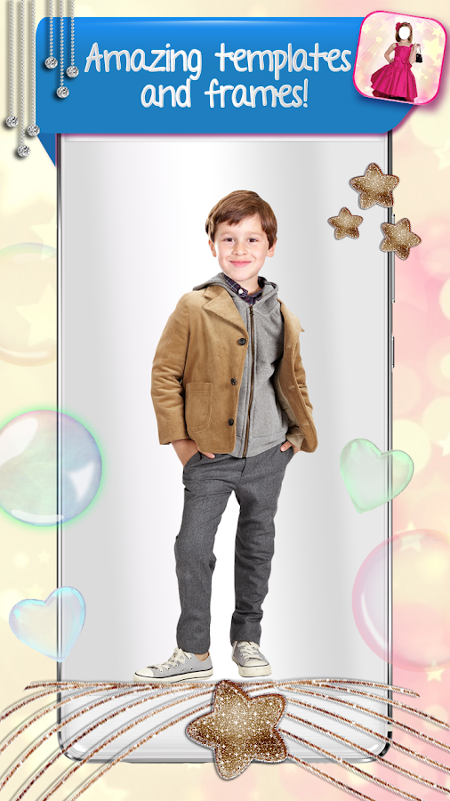 Kids Clothes Photo Editor- screenshot