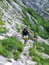 Photo: Steiler Anstieg
