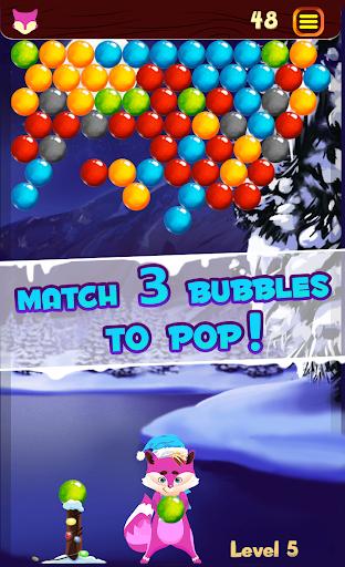 Bubble Shooter Winter Pop