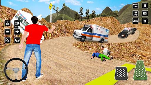 Heli Ambulance Simulator 2020: 3D Flying car games 1.12 screenshots 4