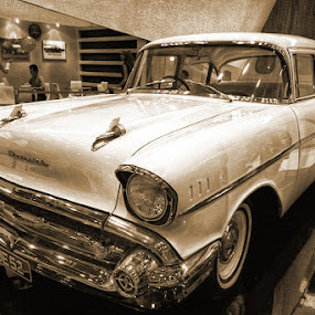Chevrolet 1957 by JNJ PhotoStream - Transportation Automobiles ( car, nature, hdr, chevrolet, kuala lumpur, portrait, antiques )