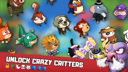 Critter Clash: Monkey Slingshot Battle Game image | 6