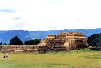 Photo: Oaxaca, ruiny Monte Alban / The ruins of Monte Alban