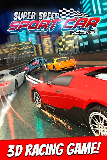 Super Speed Sport Car Racing