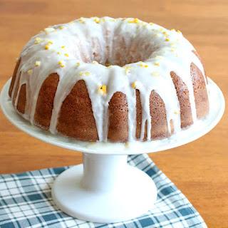 Preserved Lemon Ginger Pound Cake