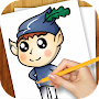 How to Draw Little Kingdom of Holly and Ben APK icon