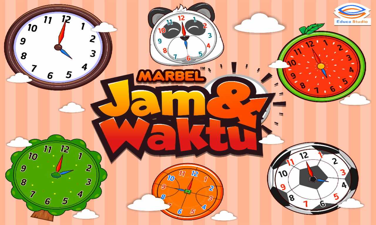 Marbel Belajar Jam Waktu Android Apps On Google Play