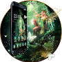 Anime Girl Fairy Princess Girl theme:Nature Jungle APK icon