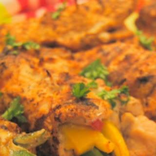 Grilled Chicken Fajita Roll Ups Recipe
