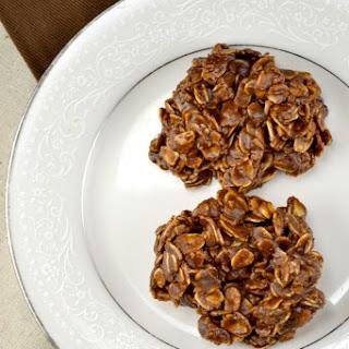 Fudgy Chocolate No Bake Cookies.