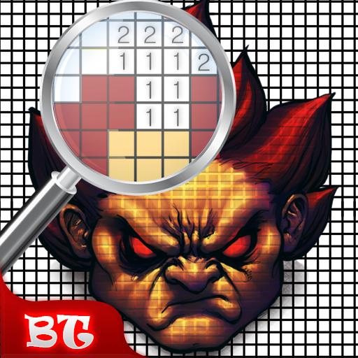 Color by Number Street Fighter : Pixel Art