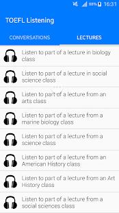 TOELF English Listening - náhled