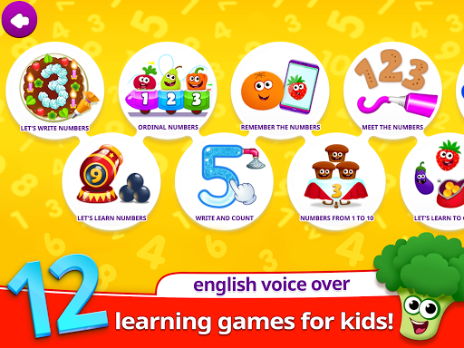 Funny Food 3! Kids Number games for toddlers! 1.1.0.0 screenshots 7