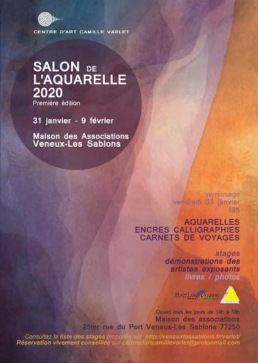 SALON DE L'AQUARELLE 2020_VENEUX LES SABLONS? SEINE ET MARNE, 77, FONTAINEBLEAU, MORET SUR LOING, paris, ile de france, AQUARELLE JEANNE PAPA