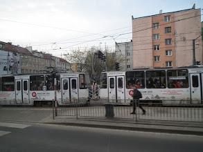 Photo: nog een volle tram