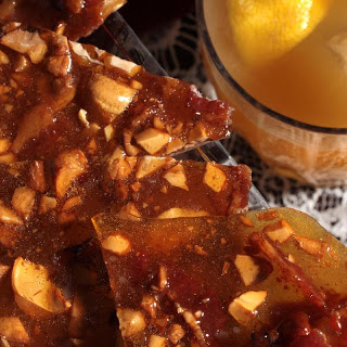 Toasted Cashew and Bacon Brittle
