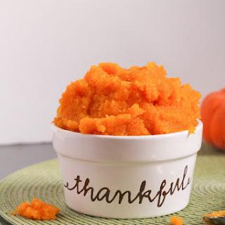 How to Make Pumpkin Puree.