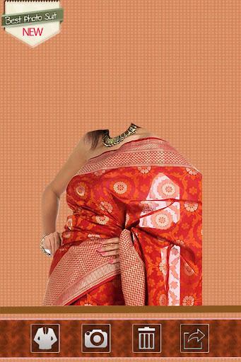 Indian Saree Blouse Photo Suit