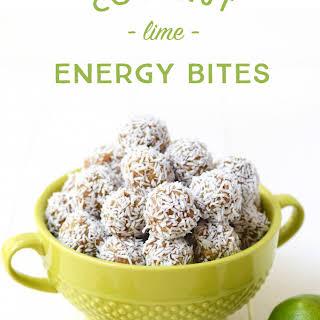 Coconut Lime Energy Bites.