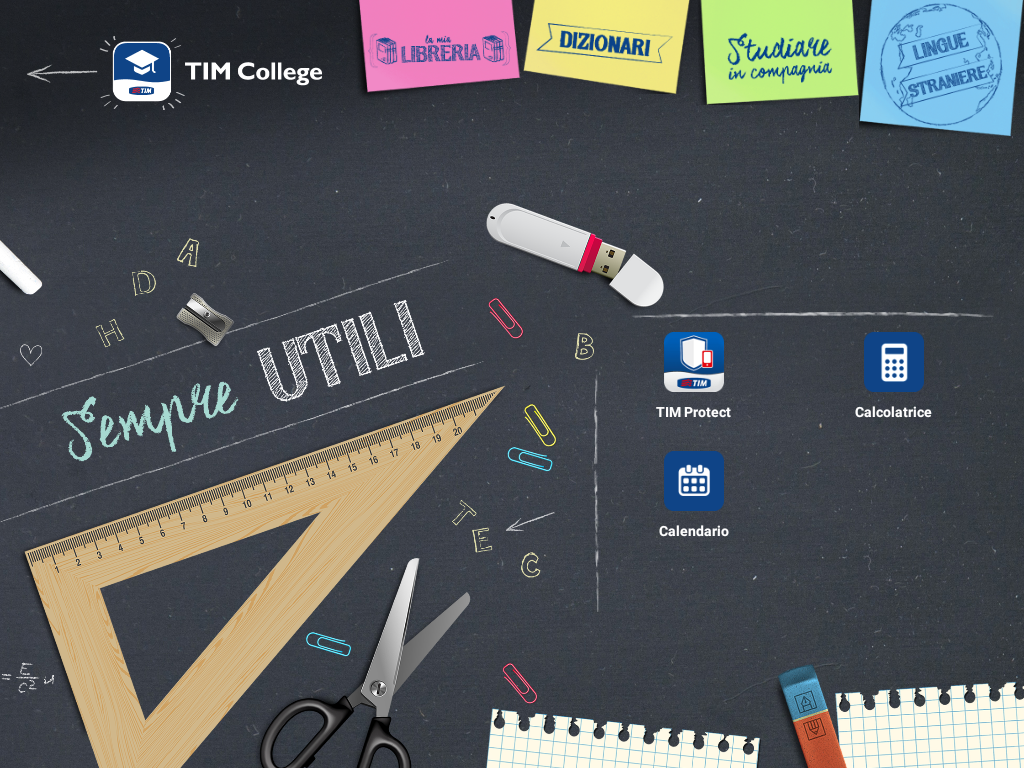 TIM College- screenshot