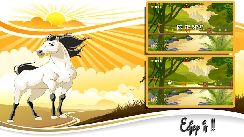 android White Horse Run Screenshot 2