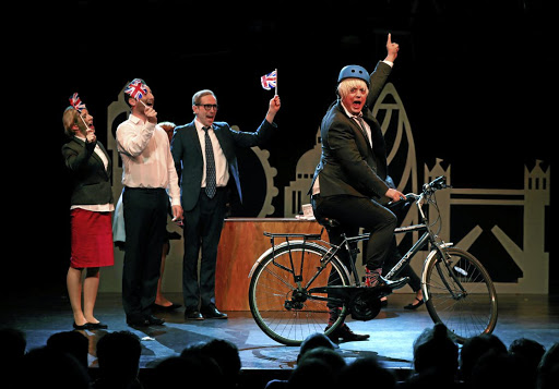 Brexit — The Musical is enjoying a hit run at the Edinburgh Fringe, in Edinburgh, Scotland. Picture: REUTERS