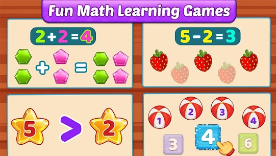 Math Kids – Add, Subtract, Count, and Learn 5