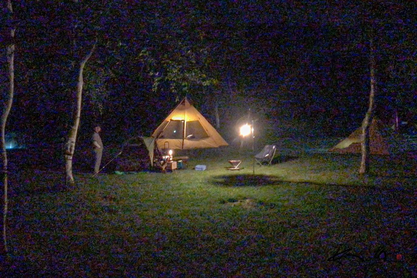 それぞれのスタイルで愉しむキャンプ。。。