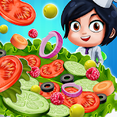 Salad Bar Manager Frenzy: Food Cafe Manager Android APK Download Free By Mini Gamers Club