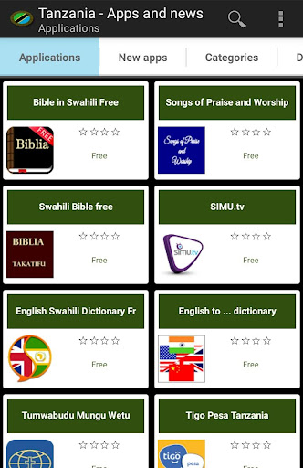 Tanzania apps