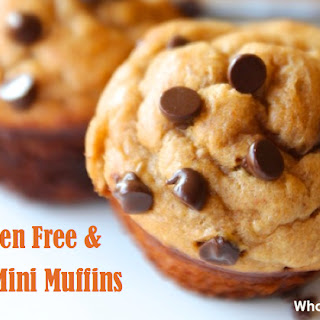 Paleo Mini Muffins {Made With Applesauce, Pearsauce or Apple-Pear Sauce}