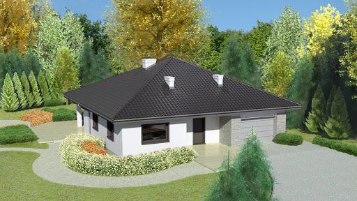 projekt Dom przy Rubinowej 3 bis