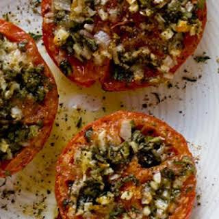 Stuffed Beefsteak Tomato.
