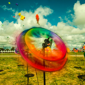 fans by Andrian Andrew - Novices Only Objects & Still Life ( kite, festival, object, fan, borneo )