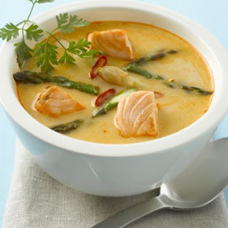 Thai Spicy Curry Soup.