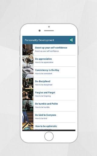 Personality Development App 2.3 screenshots 2