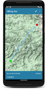 GPX Route Recorder Offline - Backpacking Hiking 2.2