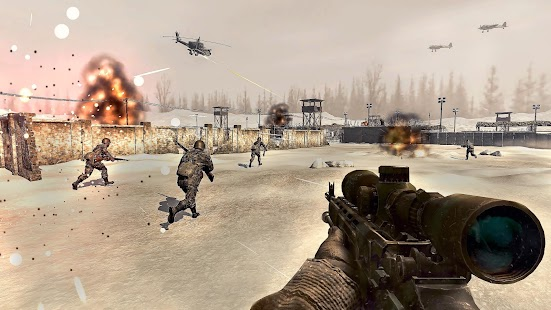 Call of World War 2 Battleground FPS Shooting Game