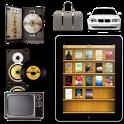 Decoration icon for book theme icon