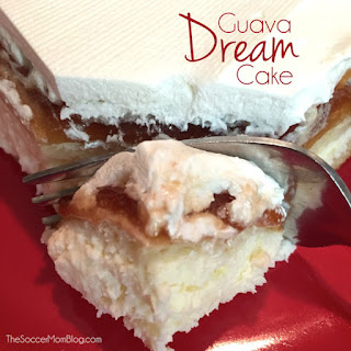 Guava Cheesecake aka Guava Dream Cake