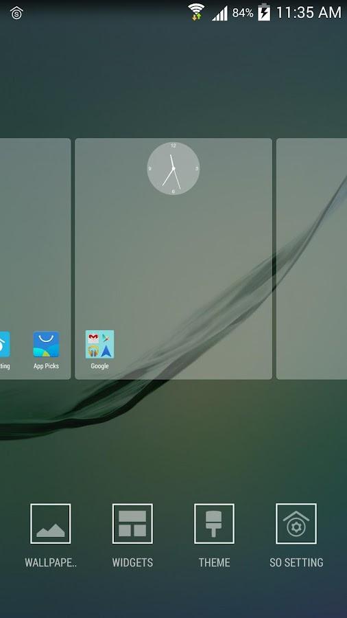 SO Launcher(galaxy s6 launcher- screenshot