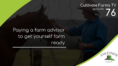 Paying a farm advisor to get yourself farm ready