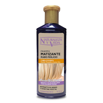 Shampoo Naturaleza Y   Vida Matizante Rubio Perlado X 300Ml