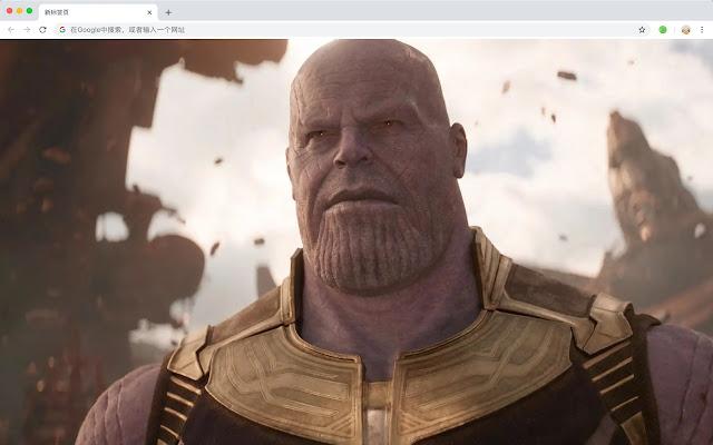thanos HD New Tabs Popular Marvel Themes