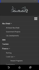 Abu Dhabi City App screenshot 1