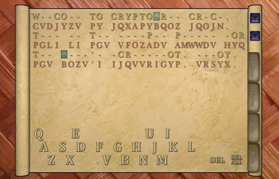 Cryptogram Crack- screenshot