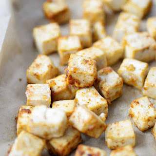 How to Make Crispy Baked Tofu.