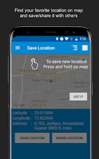 Save Location GPS - náhled